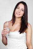 The beautiful brunette Royalty Free Stock Image
