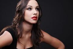 Beautiful brunette. Royalty Free Stock Photos