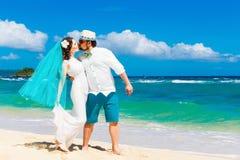 Beautiful brunette bride in white wedding dress Royalty Free Stock Photos