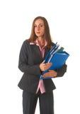 Beautiful brunette businesswoman Stock Photo