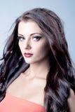 Beautiful brunette female portrait Stock Photo