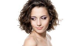 Beautiful brunette girl Stock Image