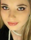 Beautiful brunette girl Royalty Free Stock Photo
