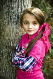 Beautiful Brunette Girl royalty free stock photo