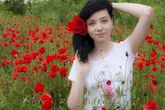 Beautiful Brunette Girl Royalty Free Stock Photos