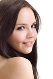 Beautiful brunette girl Royalty Free Stock Image