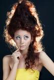 Beautiful Brunette Girl Stock Images
