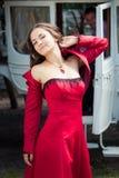 Beautiful brunette girl Stock Photography