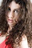 Beautiful Brunette Headshot Royalty Free Stock Photo