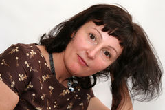 beautiful brunette mature Στοκ φωτογραφίες με δικαίωμα ελεύθερης χρήσης
