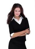 Beautiful brunette model Royalty Free Stock Photos