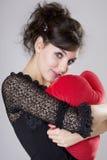 Beautiful brunette model Royalty Free Stock Photo