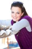 Beautiful brunette portrait Royalty Free Stock Photo