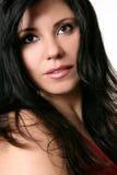 Beautiful brunette portrait royalty free stock photos