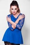 Beautiful Brunette Portrait Stock Photo