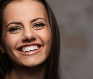 Beautiful brunette portrait Stock Photography
