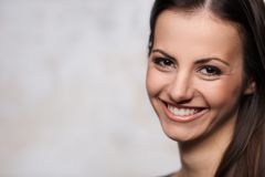 Beautiful brunette portrait Royalty Free Stock Photos