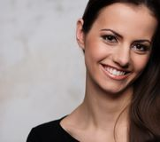 Beautiful brunette portrait Royalty Free Stock Photo