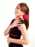 Beautiful Brunette Teen Stock Photos
