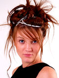 Beautiful Brunette Teen Royalty Free Stock Photo
