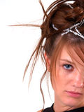 Beautiful Brunette Teen Royalty Free Stock Photography