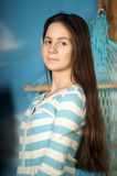 Beautiful brunette teen Royalty Free Stock Image