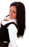 Beautiful  brunette woman Royalty Free Stock Image