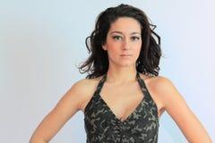 Beautiful brunette woman Royalty Free Stock Photography