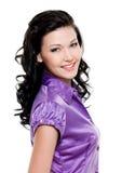 Beautiful brunette woman Stock Photography