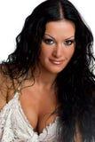 Beautiful brunette woman Royalty Free Stock Photos