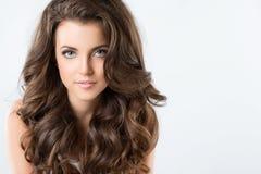 Beautiful Brunette Woman. Royalty Free Stock Photos