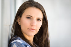 Beautiful Brunette Woman Royalty Free Stock Photography