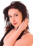 Beautiful brunette woman portrait Royalty Free Stock Photo