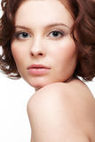 beautiful brunette woman young στοκ φωτογραφία με δικαίωμα ελεύθερης χρήσης