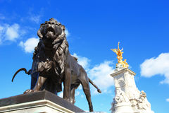 Beautiful Buckingham Palace Royalty Free Stock Photo