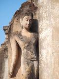 Beautiful Buddha. At sukhothai in thailand Stock Image
