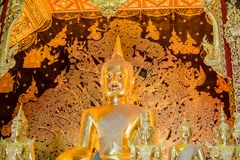 Beautiful Buddha in Buddhism The worship of the Thai people. Thailand, buddhism, people, background Stock Photo