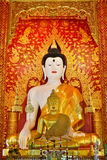 Beautiful Buddha Image In Temple Stock Photography