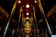 Beautiful Buddha image,Wat Nang Praya ,Thailand. Royalty Free Stock Photos