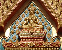 Beautiful Buddha statue Royalty Free Stock Images