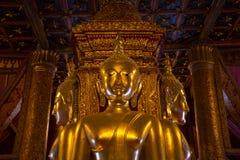 Beautiful buddha statue, Wat Phu Min, Nan, Thailand. Royalty Free Stock Image