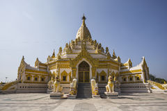 Beautiful Buddhist pagoda Royalty Free Stock Images
