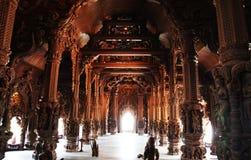 Beautiful Buddhist temple Stock Image