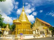 Buddhist temple Chiang Mai, Thailand stock photos