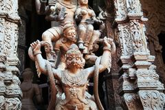 Beautiful Buddhist temple Stock Photos
