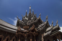 Beautiful Buddhist temple Royalty Free Stock Photos
