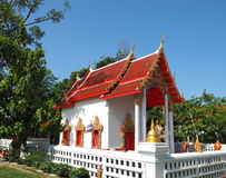 Beautiful buddhist temple in Thailand Stock Image