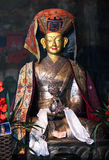 Beautiful Buddhists statue at Thiksey Gompa in Ladakh, Jammu and Stock Image