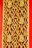 The door to the temple in Thailand at kanchanaburi Royalty Free Stock Images
