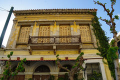 Beautiful building in Athens,Greece. Royalty Free Stock Photography